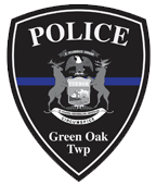 Green Oak Township Police Department Badge